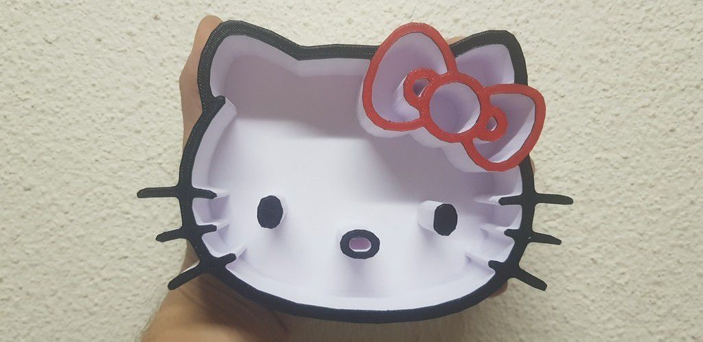 3d120f6b1bb829df6976759b1bd71d33_display_large.jpg Télécharger fichier STL gratuit Bol Hello Kitty • Design imprimable en 3D, shawnrchq