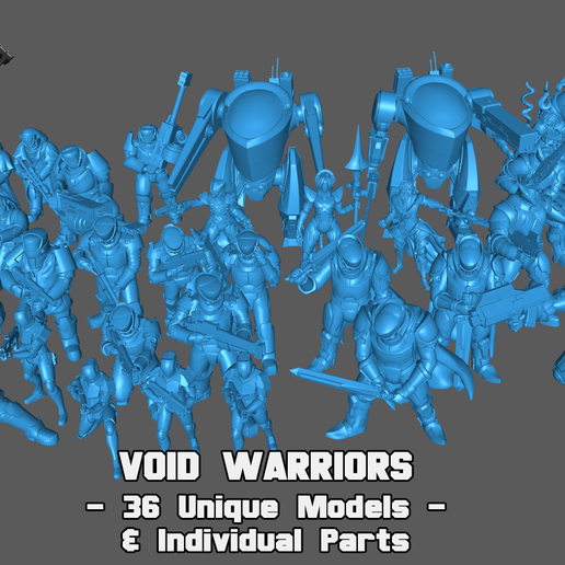 Army-Set.png Download STL file (Mercy's Reach) The Forces of Mercy Collection • 3D print template, Studio_Sol_Union