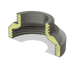 adapt.PNG Download free STL file CleverSpa to Lay-Z-Spa thread adaptor (read description!) • Object to 3D print, PRINT3DCONCEPTS
