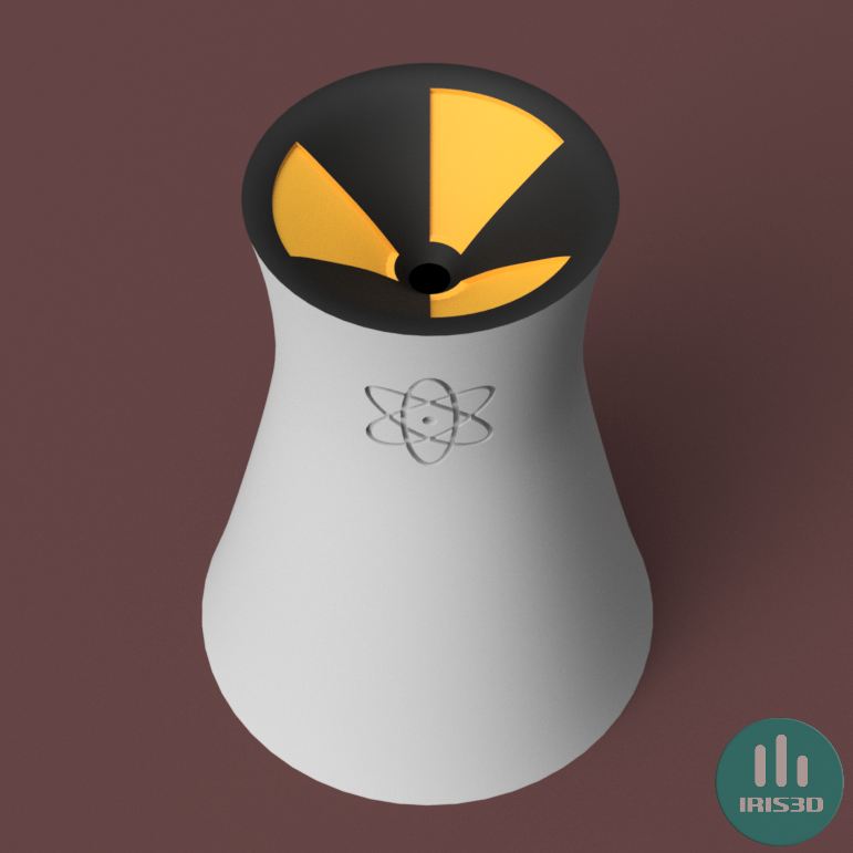 perspective-1_wm.png Download file IQOS Ashtray Nuclear Tower (Simpson inspired) • 3D printable design, iris3design