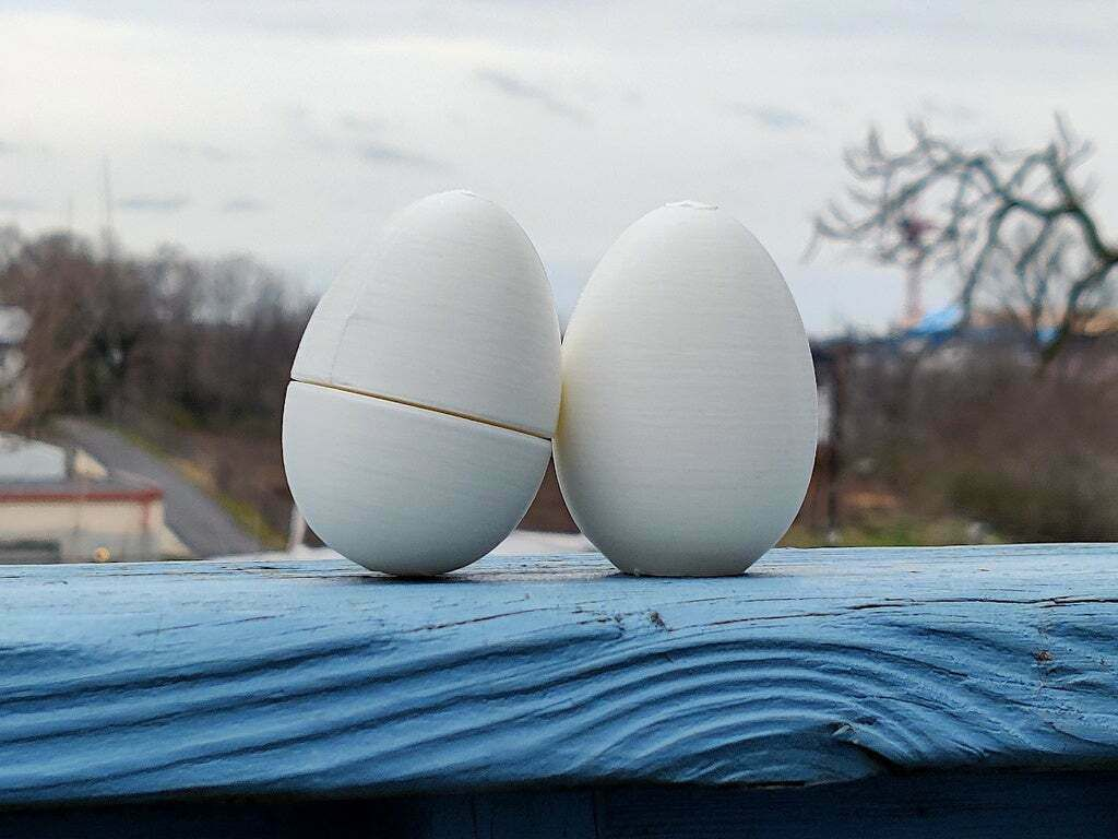 IMG_20210313_120159.jpg Download free STL file Easter Egg, Solid & Super Simple - Also great for Chicken Coops! • 3D printer design, tonyyoungblood