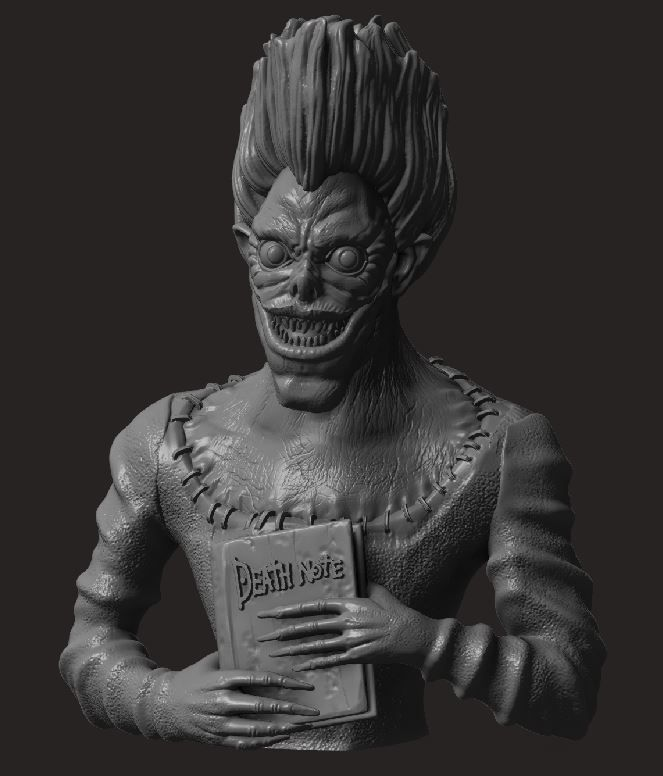 1.JPG Download STL file Death Note • Model to 3D print, socrates_z