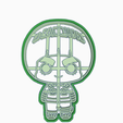FEFGGH.png Download STL file ROCK LEE - COOKIE CUTTER / NARUTO SHIPPUDEN • 3D print object, SinTiempoLibre