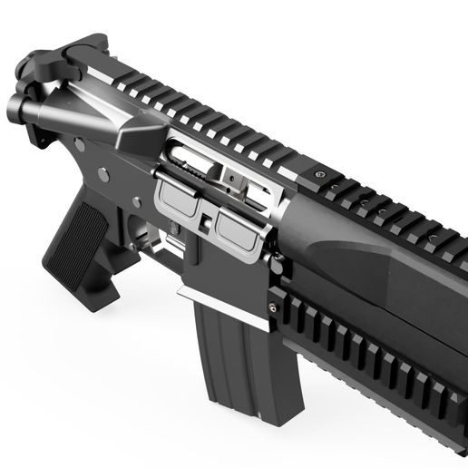 M4_Carbine_2018-Jun-22_10-07-58PM-000_CustomizedView2353077144_jpg.jpg Download STL file Boltex — Conversion kit for M4/M16 airsoft rifle.  • 3D printing object, production