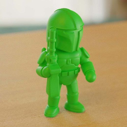 BobaFeet15_02.jpg Download free STL file Armed Sci-Fi character (2) • Model to 3D print, bs3