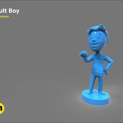 CGTrader_template_low_17.jpg Download OBJ file Vault boy • Template to 3D print, 3D-mon