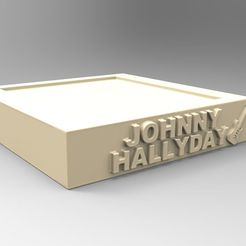 socles_01.jpg Download STL file NEW MODEL BASE JOHNNY HALLYDAY A GUITAR • 3D printing model, thierry3D
