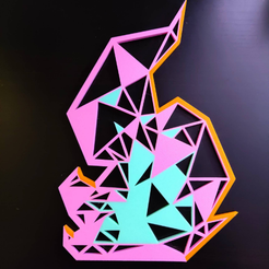 promare_1.png Download free STL file Promare 2D geometric flame design • 3D printing model, 3DPrintDogs