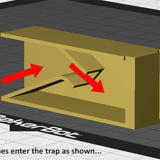 e57ffcbe003bcea28a9020a615443d10_display_large.jpg Download free STL file Roach Trap...Reusable trap to catch and kill cockroaches • Template to 3D print, Muzz64