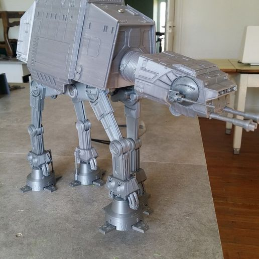 e6943db625854bccaa1d7a781d0136b6_display_large.jpg Download free STL file Motorized STARWARS AT - AT • Object to 3D print, Rio31