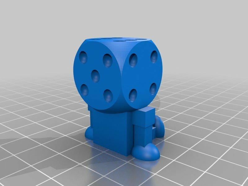112296a3acc74c9317649f2309cd179e.png Download free STL file Dice Bots • 3D printable template, JackHydrazine