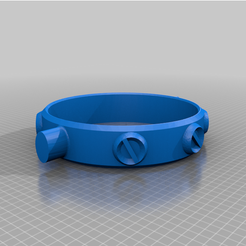 Dual_Trashcan_Collar.png Download free STL file Dual Trash Walker (large) • 3D printable object, MediaMan3D