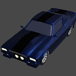 01.png Download free file coche shelby gt500 67 • 3D printable model, mauri94cio