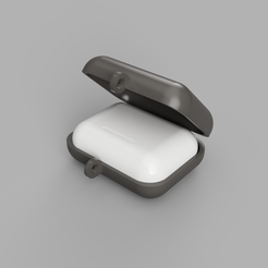 154b7794-3806-4387-bb2e-8437b9c54e9b.png Download STL file AirPods Pro Travel Case • 3D printable template, rgodoy86