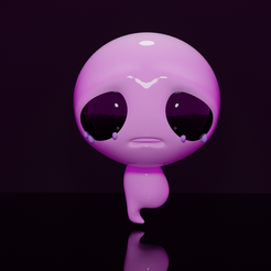 The_Lost.png Download STL file The Lost from The binding of Isaac • 3D printing object, JuanCatalan410