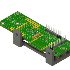 wonderfoon_pcb.png Download free STL file Wemos_DF_holder Wonderfoon pcb • Object to 3D print, fgeer