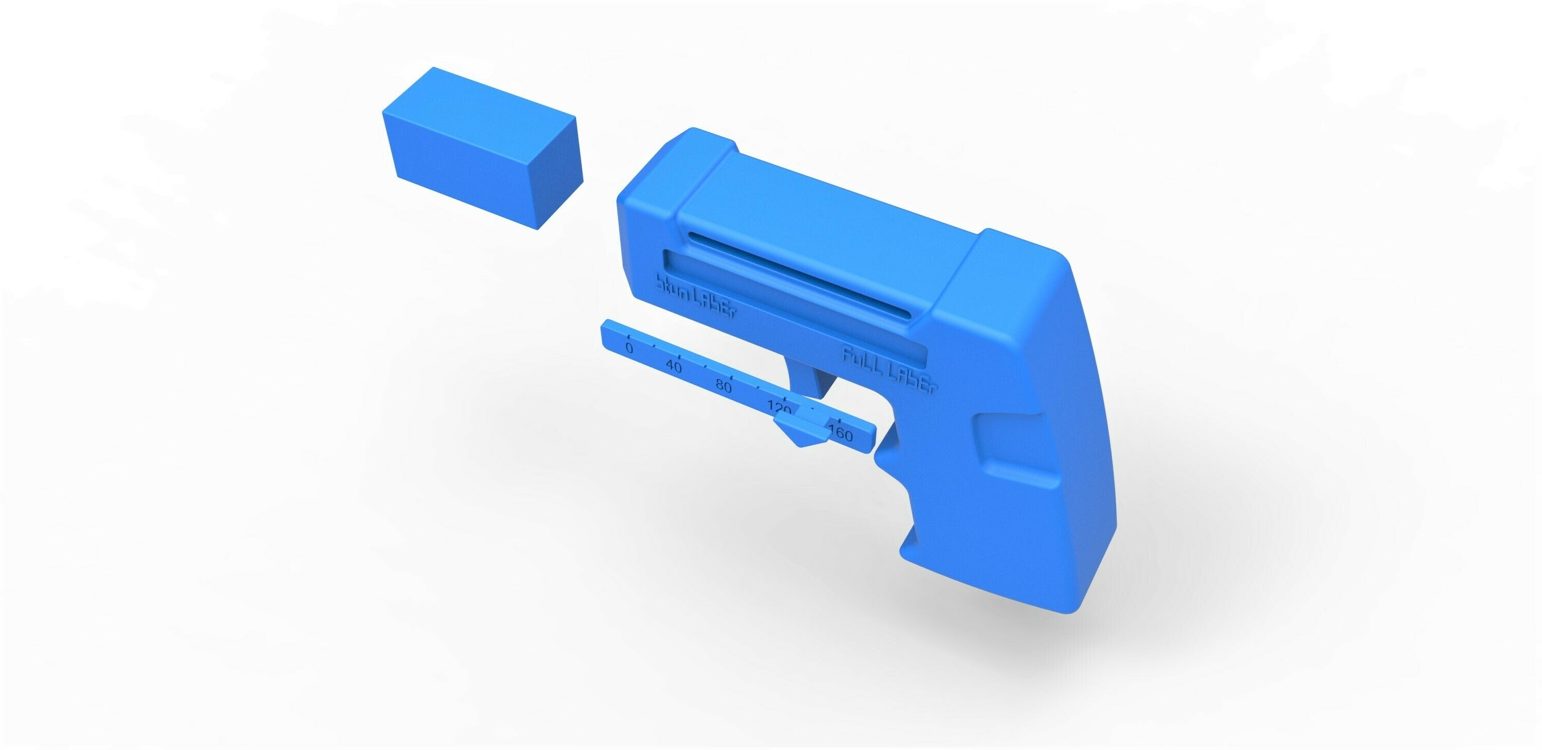 57.jpg Download STL file Assassins Laser Pistol from Buck Rogers in the 25th Century TV series • Object to 3D print, CosplayItemsRock