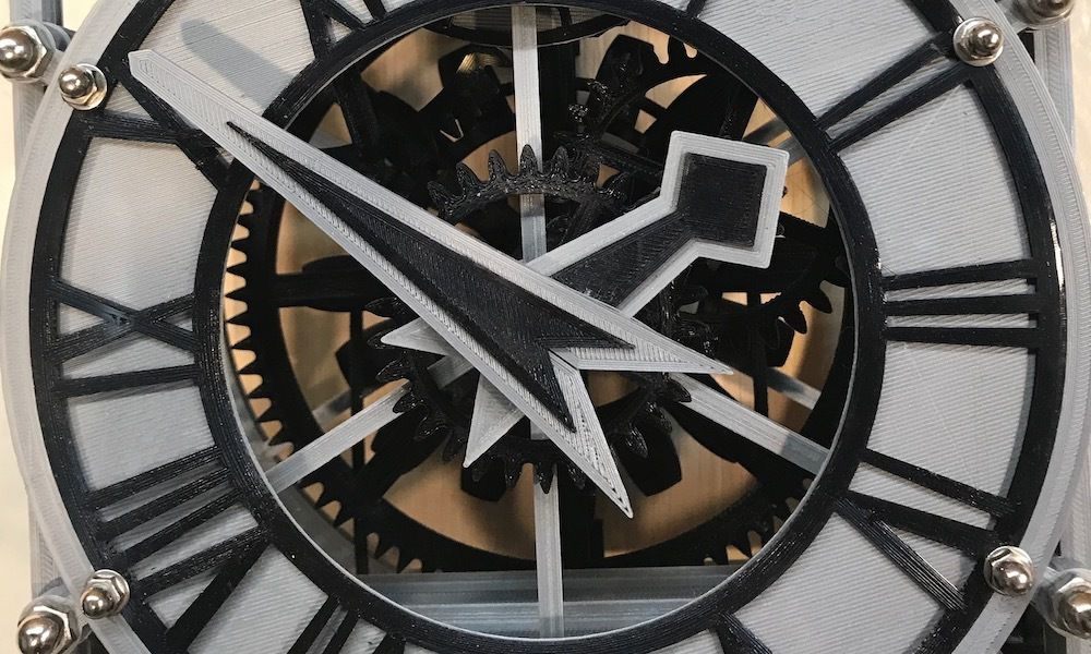 faceClose.jpg Download free 3MF file Christian Huygens 3D printed clock • Design to 3D print, JacquesFavre