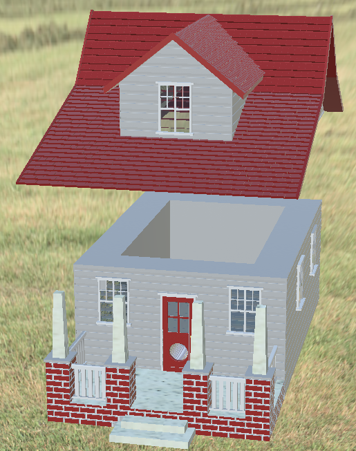 beehomerender.png Download STL file HomeSweetHome Native Bee Hive • Design to 3D print, hodgo