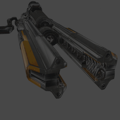 1.png Download free STL file Doom - Gauss cannon • Object to 3D print, beretek