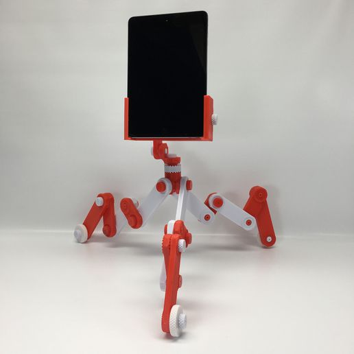 TabletVertical.JPG Download STL file Tablet Clamp • Design to 3D print, 3DGripGears