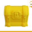Fortnite Chest2.png Download free STL file Fortnite Chest Game Prop Pc Xbox PS4 • 3D printing template, Custom3DPrinting