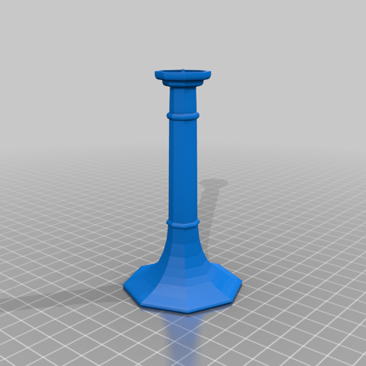 candle1.png Download free STL file Candlestick • 3D printable template, bozicpepsi