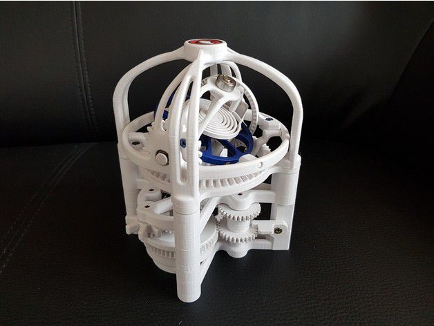 ff41f1ff34c004a9ff863a509921b312_preview_featured.jpg Download free STL file Gyrotourbillon • Model to 3D print, NOP21