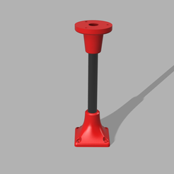 Security-Camera-Mount-Extension-v3-1.png Download free STL file Zmodo Camera Mount Extensions • 3D printable template, jbanion