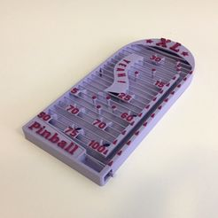 IMG_8319.JPG Download STL file XL print-in-place PINBALL ! • 3D printer design, serial_print3r