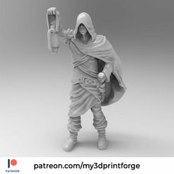 later1.jpg Download free STL file The Unknown Hero 32mm Pre-supported • 3D printing template, My3DprintFORGE