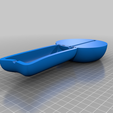 Rotary_phone_bottom_speaker.png Download STL file Yellow Retro Handset Rotary Phone (Made in Fusion 360) • Template to 3D print, CharlesProjects
