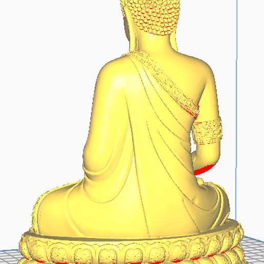 4.png Download free STL file THAI BUDDHA • 3D print template, oasisk