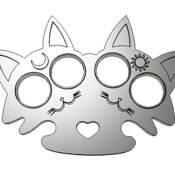 gato-manopla-v1.png Download STL file Cat Mittens • Object to 3D print, Dusterink