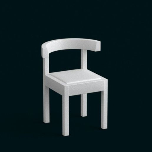 01.jpg Download STL file 1:10 Scale Model - Chair 04 • Design to 3D print, sidnaique