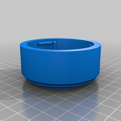 sony_e_to_canon_adapter.png Download free STL file Canon ef to sony FE/Nex lens mount adapter. • 3D printer template, Pratrik