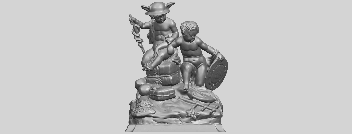 23_TDA0271_Two_kids_iiA01.png Download free STL file Two kids 02 • 3D printable model, GeorgesNikkei