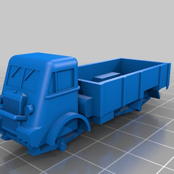 f14083496d7afb574924df88357eab1a.png Download free STL file Bedford QL Truck • 3D printer object, jerrycon