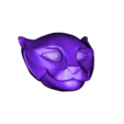 pantera head for printing.OBJ Download OBJ file panther head 3D • Object to 3D print, RolandH