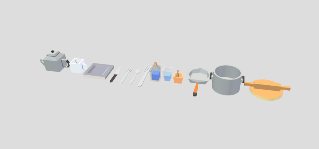 CookingTools(Render).png Download STL file Cooking Tools 3D Low Poly • 3D print design, theworldentertainment