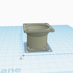 pic1.png Download free STL file Geeetech A10 Hotend - Insert Fan Adapter 40mm to 30mm • 3D printing template, Dr4l3g