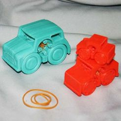 CarCollectionIII_add.jpg Download free STL file Rubber Band Powered Car Collection III (additional) • 3D printing template, Liszt