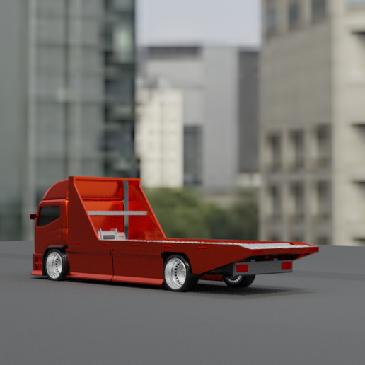 04.png Download STL file Custom tow truck 06ma-1 (Sliced and entire parts Updated!) • Design to 3D print, Pixel3D