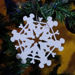 IMG-20191204-WA0002.jpg Download STL file mickey mouse snowflake • Design to 3D print, Tule