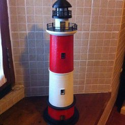 2014-12-31_12.25.47_display_large.jpg Download free STL file Round Base Lighthouse Model • Model to 3D print, Ogubal3D