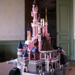 _3058317.JPG Download free STL file Chateau Disneyland Paris with Prusa MK2S MMU (Ed2) • 3D print model, Rio31