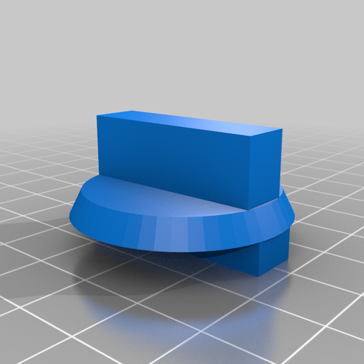 magbase_switch_knob.png Download free STL file Knob / Switch for Magnetic Base for Dial Indicators • 3D print template, Steve_rLab