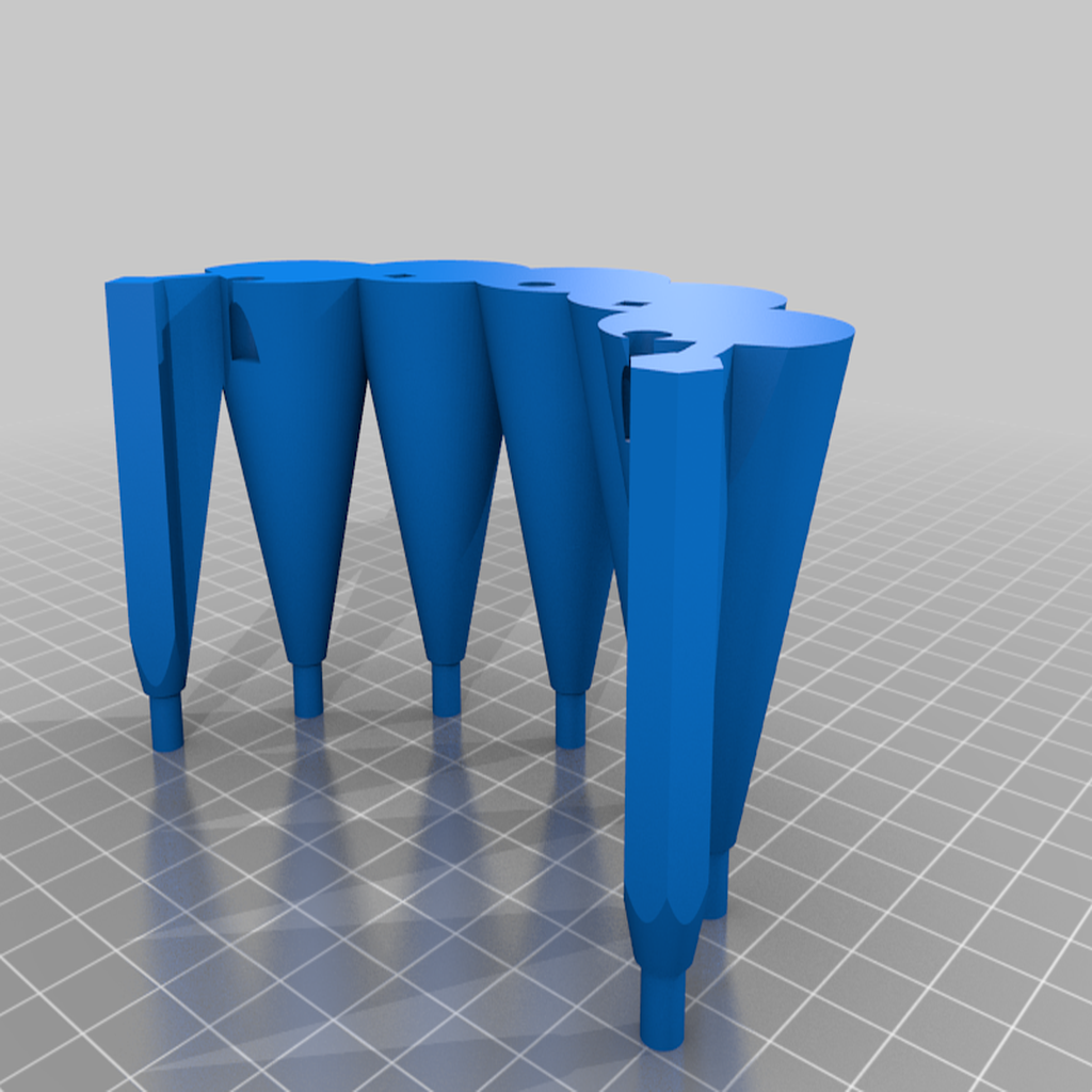 Tier_2_part_3.png Download free STL file Christmas Tree Puzzle • 3D print design, Steve_rLab
