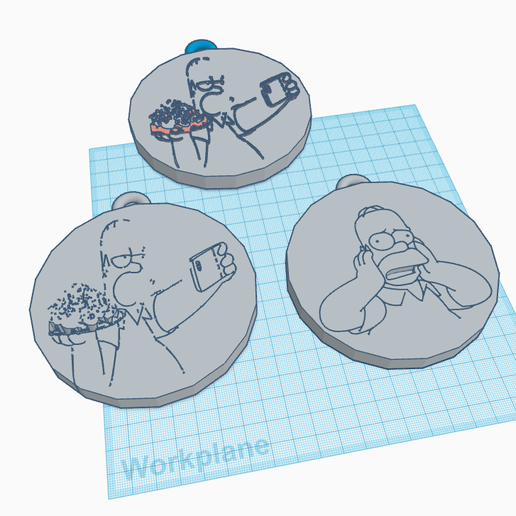 paid-key-chain.png Download free STL file homer keychain set • 3D printable design, YngNeil