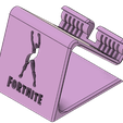 Image_1.png Download STL file Phone Holder Phone stand Fortnite-True heart • 3D printing template, ludovic_gauthier